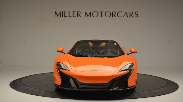 Used 2015 McLaren 650S Spider Convertible for sale Sold at Maserati of Greenwich in Greenwich CT 06830 12