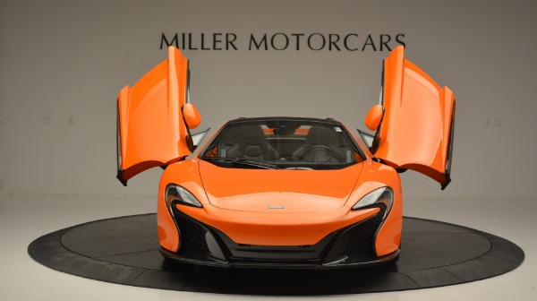 Used 2015 McLaren 650S Spider Convertible for sale Sold at Maserati of Greenwich in Greenwich CT 06830 13
