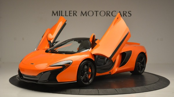 Used 2015 McLaren 650S Spider Convertible for sale Sold at Maserati of Greenwich in Greenwich CT 06830 14