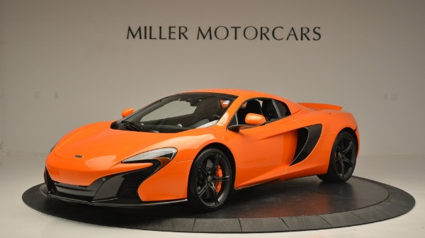 Used 2015 McLaren 650S Spider Convertible for sale Sold at Maserati of Greenwich in Greenwich CT 06830 15
