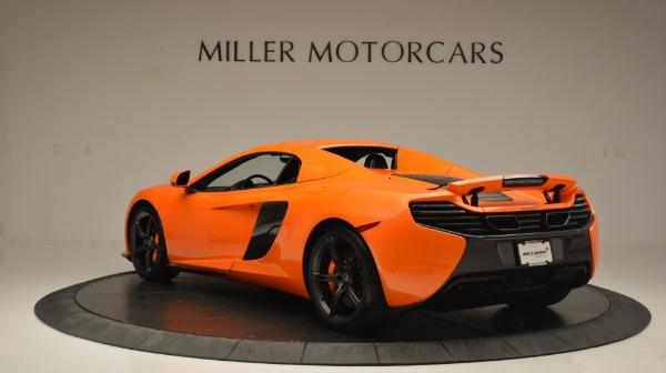 Used 2015 McLaren 650S Spider Convertible for sale Sold at Maserati of Greenwich in Greenwich CT 06830 17