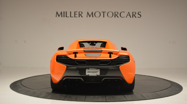 Used 2015 McLaren 650S Spider Convertible for sale Sold at Maserati of Greenwich in Greenwich CT 06830 18