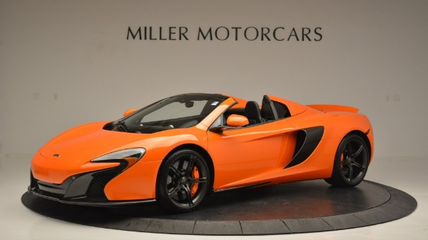 Used 2015 McLaren 650S Spider Convertible for sale Sold at Maserati of Greenwich in Greenwich CT 06830 2