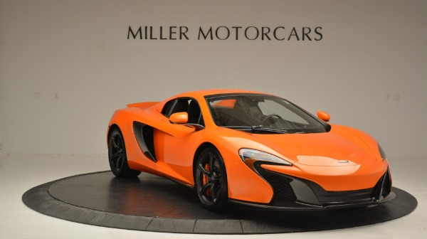 Used 2015 McLaren 650S Spider Convertible for sale Sold at Maserati of Greenwich in Greenwich CT 06830 21