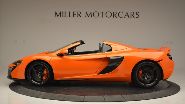 Used 2015 McLaren 650S Spider Convertible for sale Sold at Maserati of Greenwich in Greenwich CT 06830 3