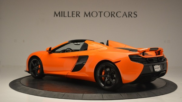 Used 2015 McLaren 650S Spider Convertible for sale Sold at Maserati of Greenwich in Greenwich CT 06830 4