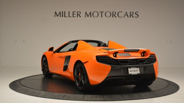 Used 2015 McLaren 650S Spider Convertible for sale Sold at Maserati of Greenwich in Greenwich CT 06830 5