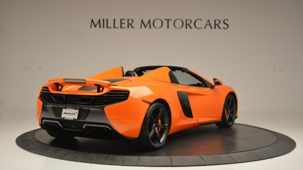 Used 2015 McLaren 650S Spider Convertible for sale Sold at Maserati of Greenwich in Greenwich CT 06830 7