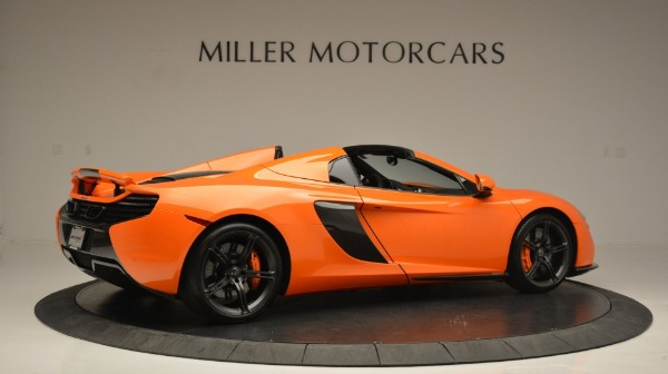 Used 2015 McLaren 650S Spider Convertible for sale Sold at Maserati of Greenwich in Greenwich CT 06830 8