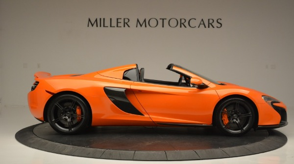 Used 2015 McLaren 650S Spider Convertible for sale Sold at Maserati of Greenwich in Greenwich CT 06830 9