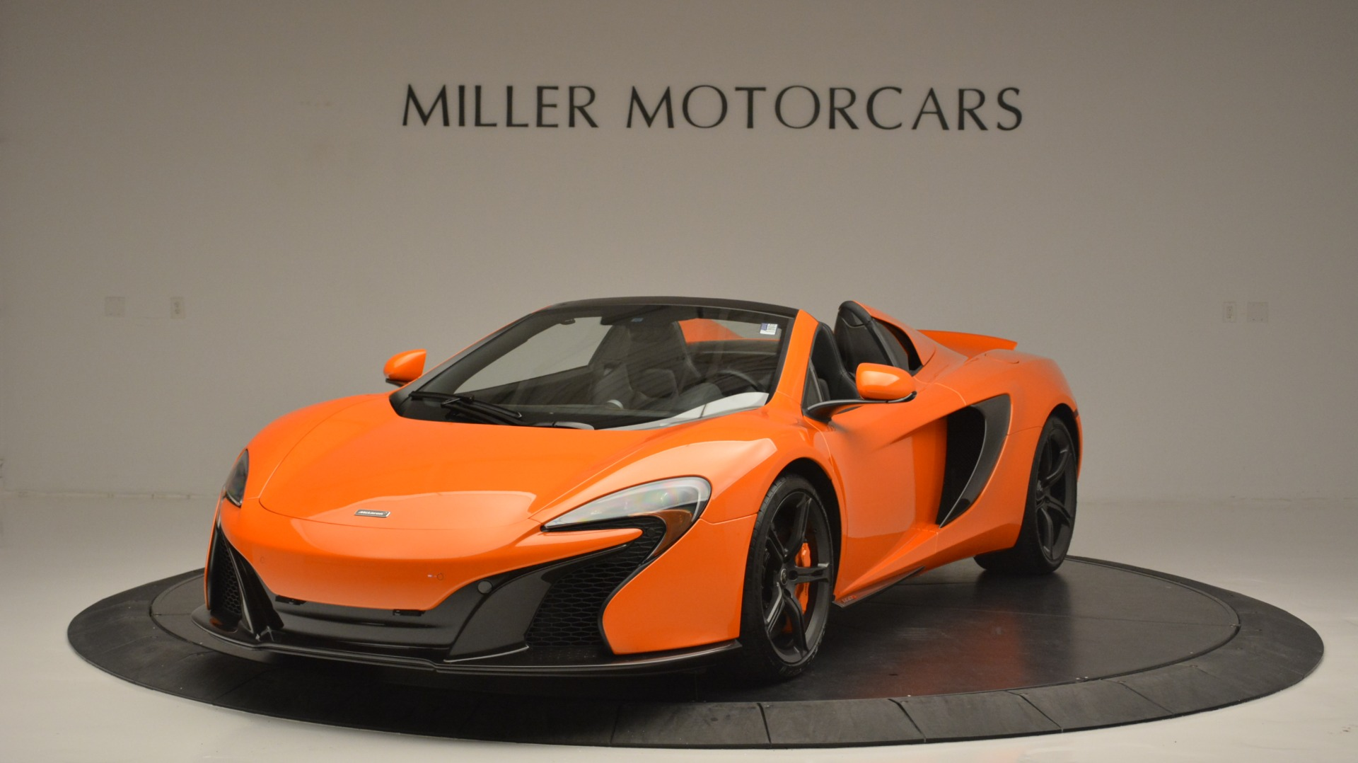 Used 2015 McLaren 650S Spider Convertible for sale Sold at Maserati of Greenwich in Greenwich CT 06830 1