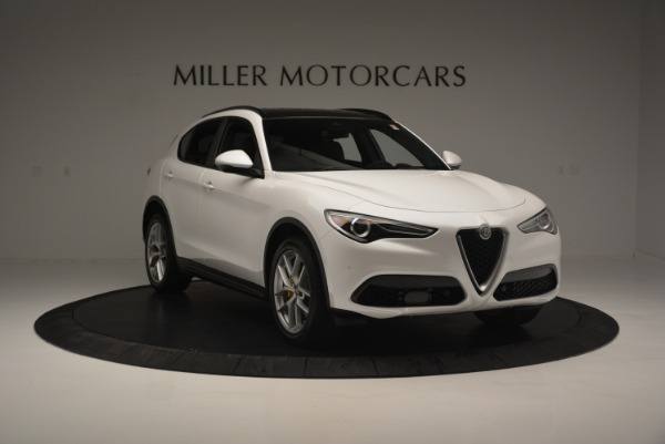 Used 2018 Alfa Romeo Stelvio Ti Sport Q4 for sale $32,900 at Maserati of Greenwich in Greenwich CT 06830 12