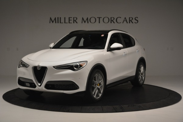 Used 2018 Alfa Romeo Stelvio Ti Sport Q4 for sale $32,900 at Maserati of Greenwich in Greenwich CT 06830 1
