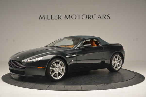 Used 2008 Aston Martin V8 Vantage Roadster for sale Sold at Maserati of Greenwich in Greenwich CT 06830 10