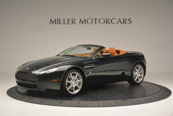 Used 2008 Aston Martin V8 Vantage Roadster for sale Sold at Maserati of Greenwich in Greenwich CT 06830 2