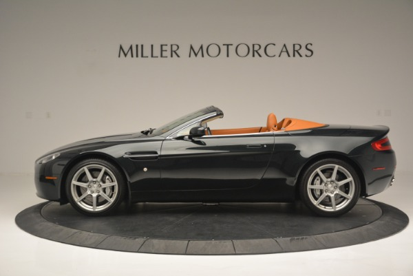 Used 2008 Aston Martin V8 Vantage Roadster for sale Sold at Maserati of Greenwich in Greenwich CT 06830 3