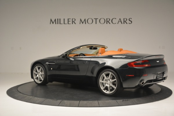 Used 2008 Aston Martin V8 Vantage Roadster for sale Sold at Maserati of Greenwich in Greenwich CT 06830 4