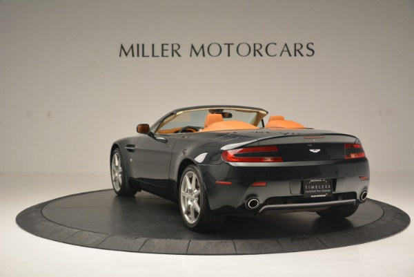 Used 2008 Aston Martin V8 Vantage Roadster for sale Sold at Maserati of Greenwich in Greenwich CT 06830 5