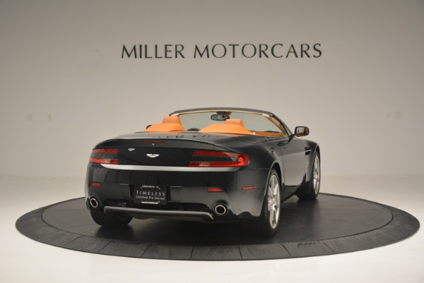 Used 2008 Aston Martin V8 Vantage Roadster for sale Sold at Maserati of Greenwich in Greenwich CT 06830 7