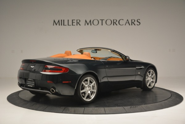 Used 2008 Aston Martin V8 Vantage Roadster for sale Sold at Maserati of Greenwich in Greenwich CT 06830 8
