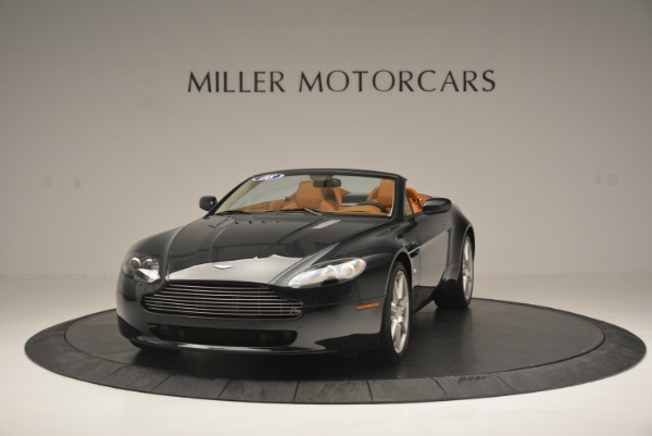 Used 2008 Aston Martin V8 Vantage Roadster for sale Sold at Maserati of Greenwich in Greenwich CT 06830 1