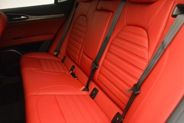 Used 2018 Alfa Romeo Stelvio Ti Sport Q4 for sale $36,900 at Maserati of Greenwich in Greenwich CT 06830 17
