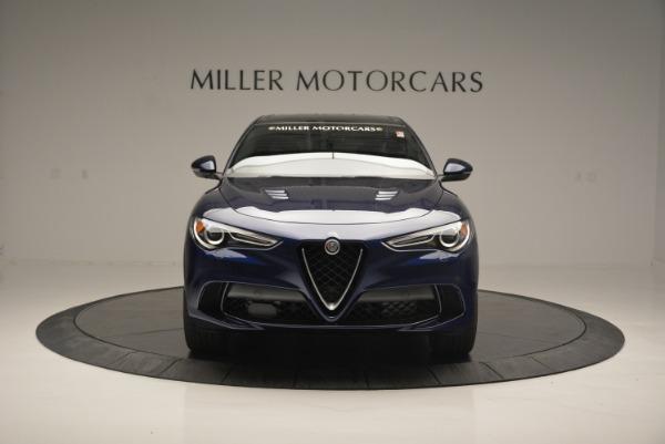 New 2018 Alfa Romeo Stelvio Quadrifoglio for sale Sold at Maserati of Greenwich in Greenwich CT 06830 12