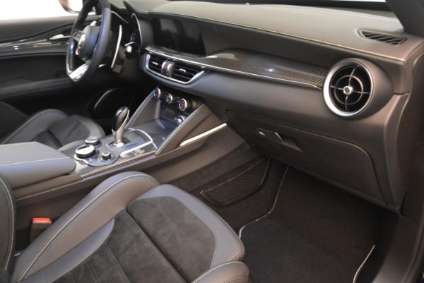 New 2018 Alfa Romeo Stelvio Quadrifoglio for sale Sold at Maserati of Greenwich in Greenwich CT 06830 19
