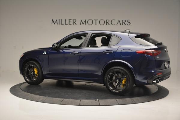 New 2018 Alfa Romeo Stelvio Quadrifoglio for sale Sold at Maserati of Greenwich in Greenwich CT 06830 4