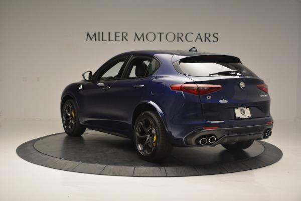 New 2018 Alfa Romeo Stelvio Quadrifoglio for sale Sold at Maserati of Greenwich in Greenwich CT 06830 5