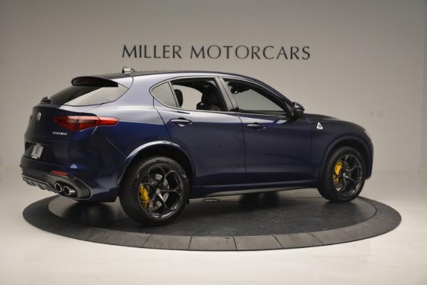 New 2018 Alfa Romeo Stelvio Quadrifoglio for sale Sold at Maserati of Greenwich in Greenwich CT 06830 8