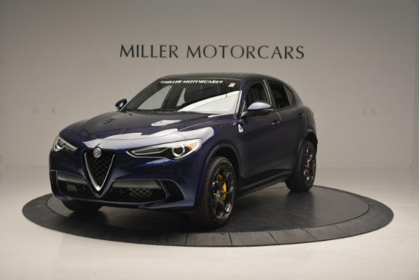 New 2018 Alfa Romeo Stelvio Quadrifoglio for sale Sold at Maserati of Greenwich in Greenwich CT 06830 1