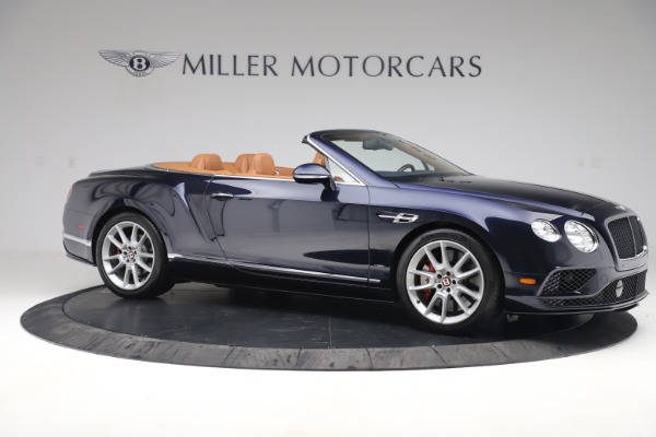Used 2016 Bentley Continental GTC V8 S for sale Sold at Maserati of Greenwich in Greenwich CT 06830 10
