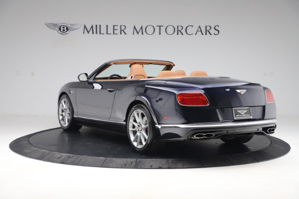 Used 2016 Bentley Continental GTC V8 S for sale Sold at Maserati of Greenwich in Greenwich CT 06830 5