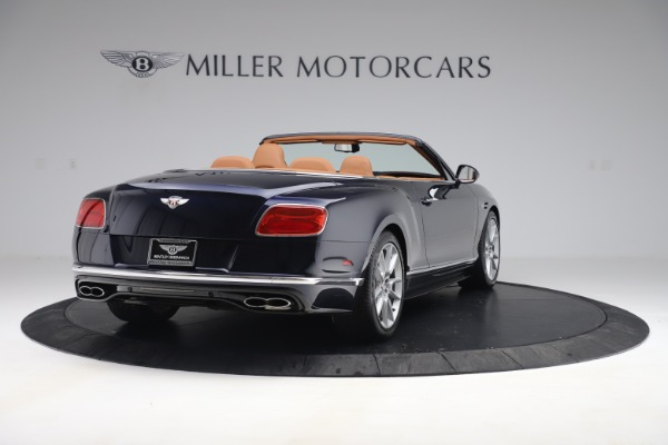 Used 2016 Bentley Continental GTC V8 S for sale Sold at Maserati of Greenwich in Greenwich CT 06830 7