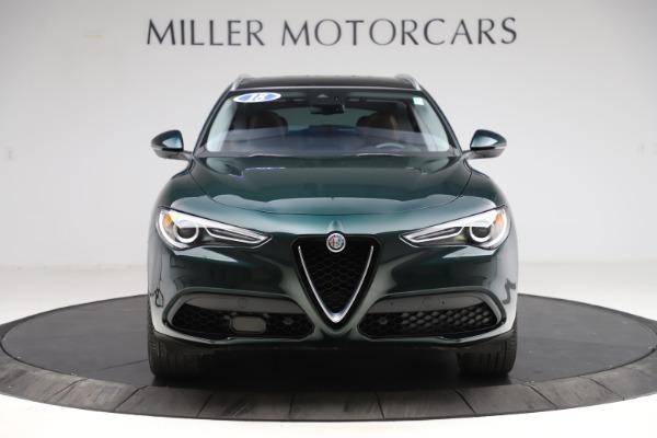 Used 2018 Alfa Romeo Stelvio Ti Q4 for sale $32,900 at Maserati of Greenwich in Greenwich CT 06830 12