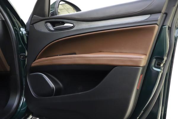 Used 2018 Alfa Romeo Stelvio Ti Q4 for sale $32,900 at Maserati of Greenwich in Greenwich CT 06830 25