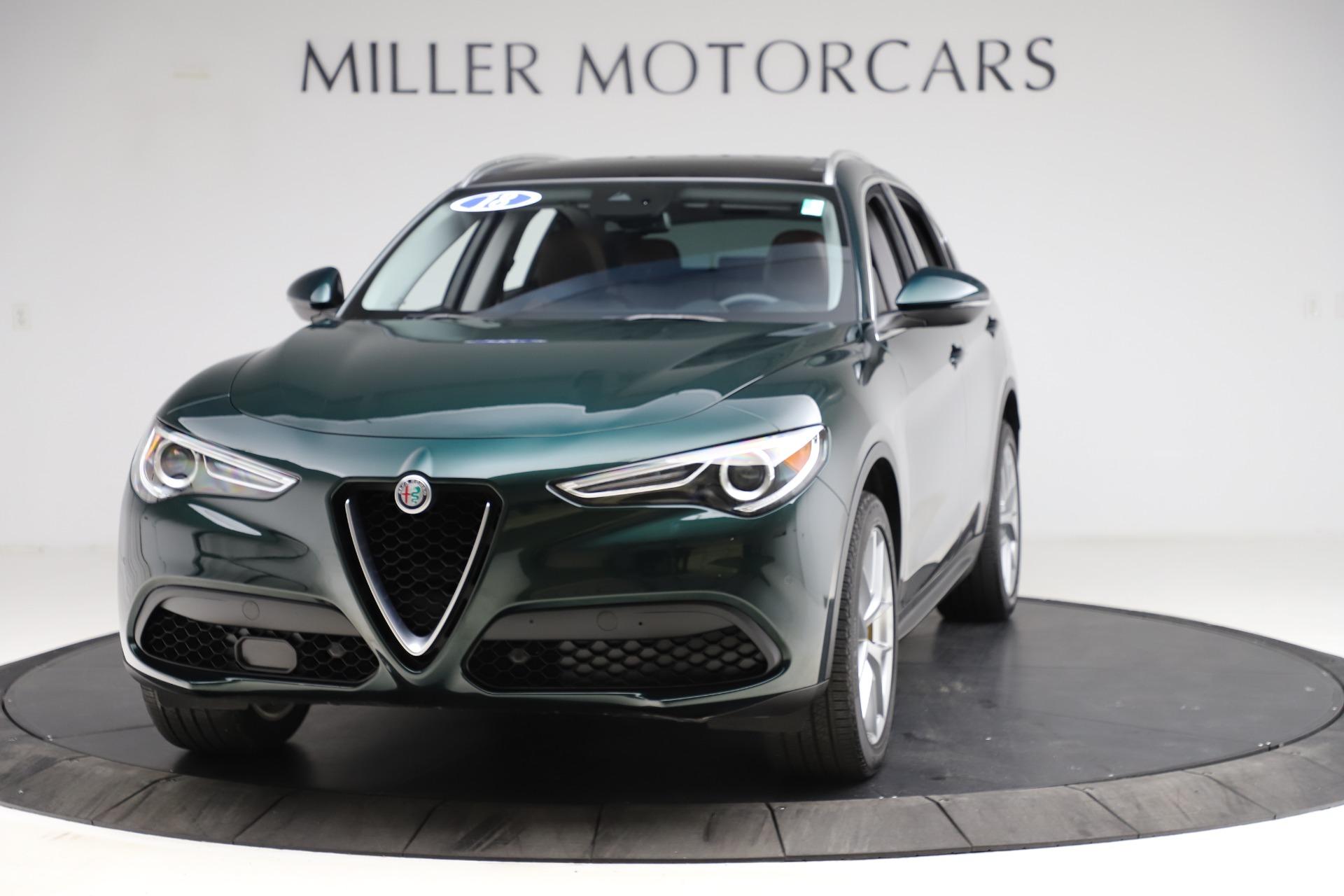 Used 2018 Alfa Romeo Stelvio Ti Q4 for sale $32,900 at Maserati of Greenwich in Greenwich CT 06830 1