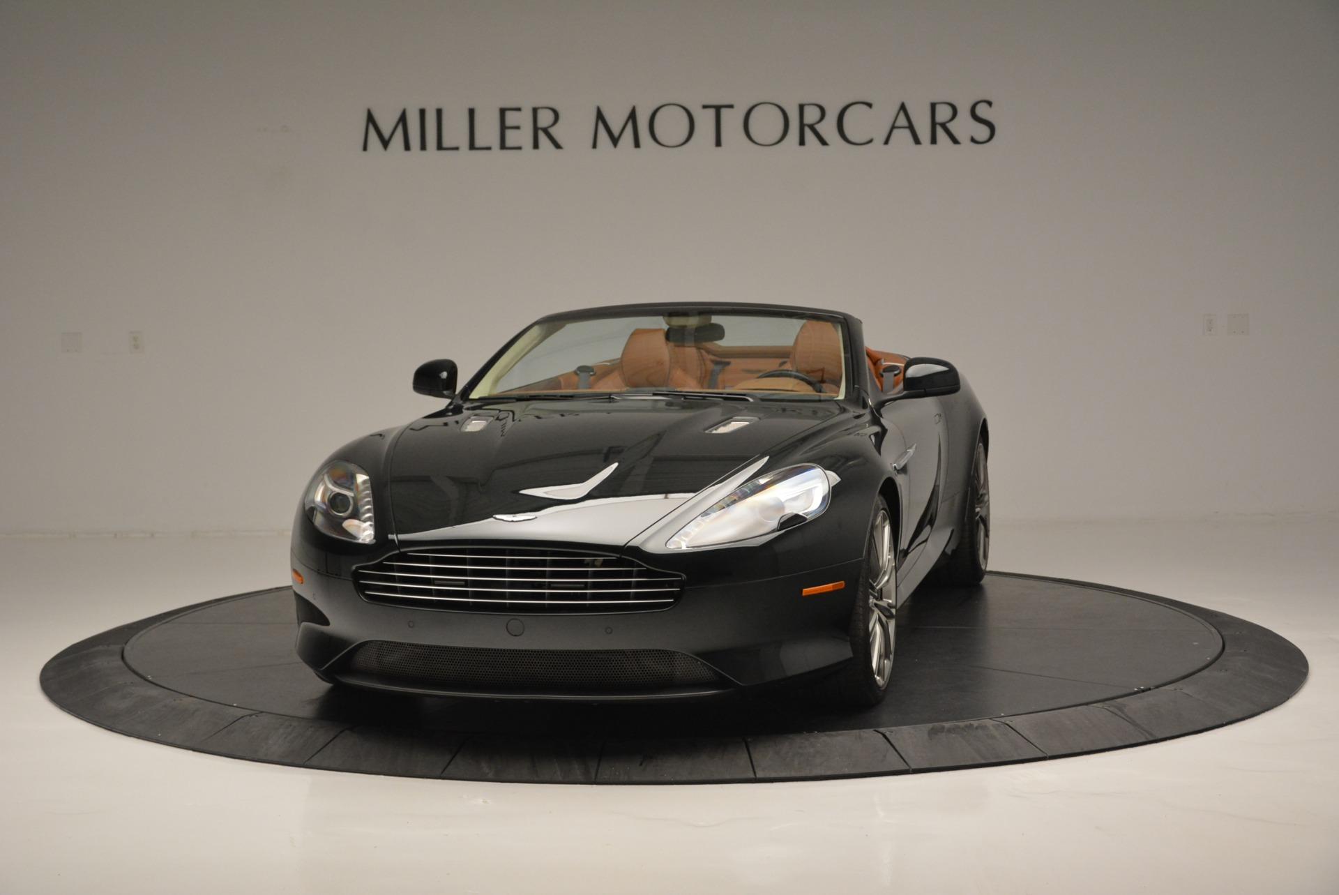 Used 2012 Aston Martin Virage Volante for sale Sold at Maserati of Greenwich in Greenwich CT 06830 1