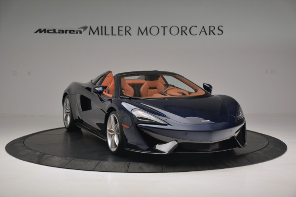 New 2019 McLaren 570S Spider Convertible for sale Sold at Maserati of Greenwich in Greenwich CT 06830 11