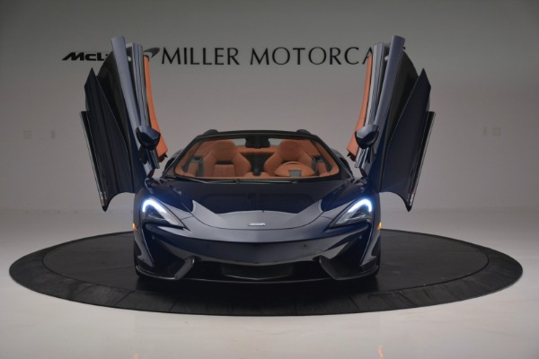 New 2019 McLaren 570S Spider Convertible for sale Sold at Maserati of Greenwich in Greenwich CT 06830 13