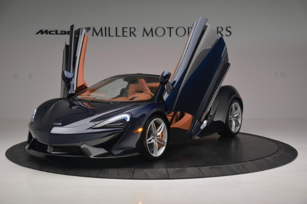 New 2019 McLaren 570S Spider Convertible for sale Sold at Maserati of Greenwich in Greenwich CT 06830 14
