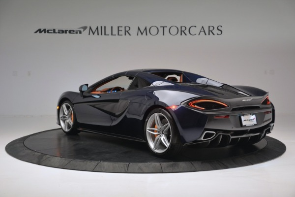New 2019 McLaren 570S Spider Convertible for sale Sold at Maserati of Greenwich in Greenwich CT 06830 17