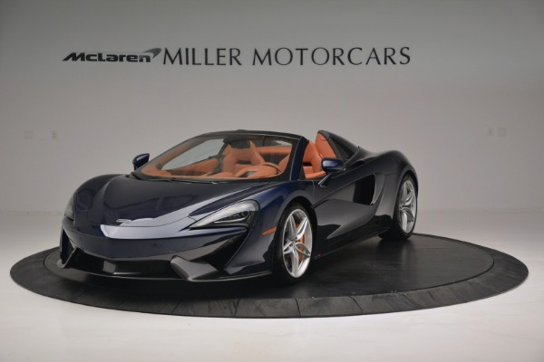 New 2019 McLaren 570S Spider Convertible for sale Sold at Maserati of Greenwich in Greenwich CT 06830 2