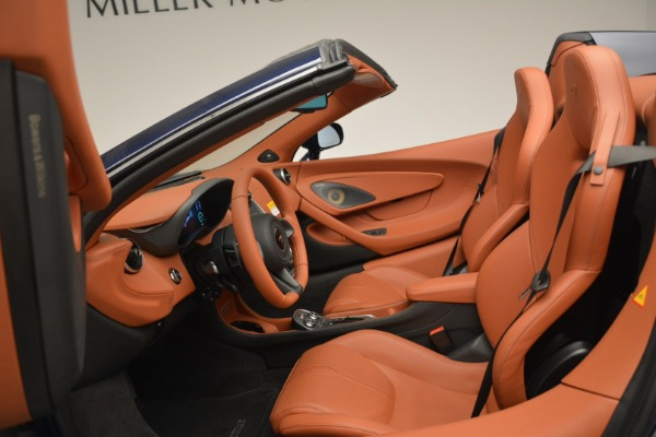 New 2019 McLaren 570S Spider Convertible for sale Sold at Maserati of Greenwich in Greenwich CT 06830 24