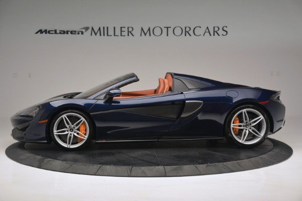 New 2019 McLaren 570S Spider Convertible for sale Sold at Maserati of Greenwich in Greenwich CT 06830 3