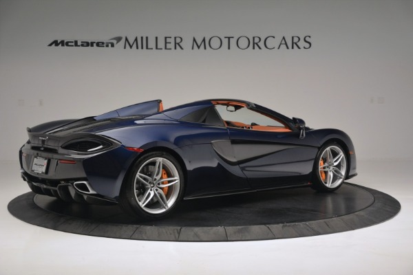 New 2019 McLaren 570S Spider Convertible for sale Sold at Maserati of Greenwich in Greenwich CT 06830 8