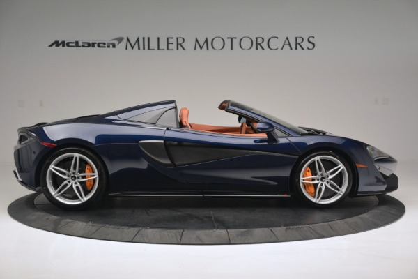 New 2019 McLaren 570S Spider Convertible for sale Sold at Maserati of Greenwich in Greenwich CT 06830 9
