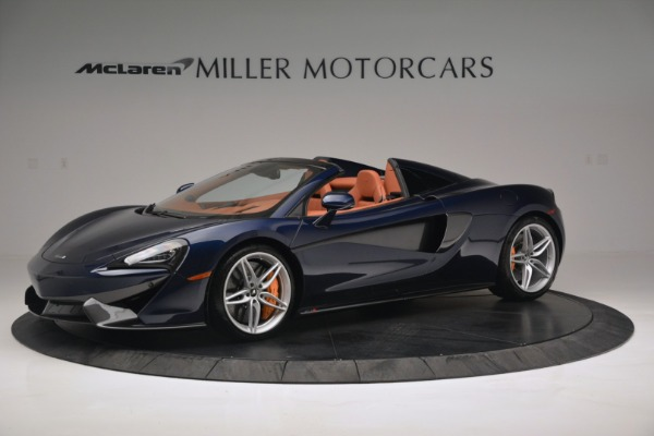 New 2019 McLaren 570S Spider Convertible for sale Sold at Maserati of Greenwich in Greenwich CT 06830 1