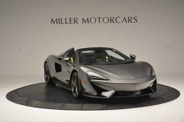 Used 2019 McLaren 570S Spider Convertible for sale Sold at Maserati of Greenwich in Greenwich CT 06830 11